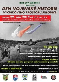 Plakát DEN VOJENSKÉ HISTORIE
